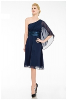ACHTUNG: FARBE CREME Cocktailkleid Chiffon 