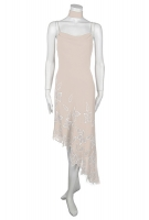 Sommerkleid creme kurz festlich elegant gnstig 
