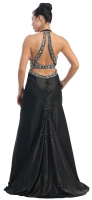 Red-Carpet-Dress Abendkleid schwarz Charmeuse