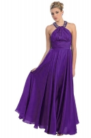 Hollywood Abendkleid purple violett