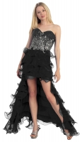 VIP Dress Abendkleid USA Pailletten schwarz